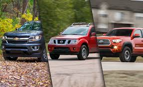 10 Best Midsize Pickup Trucks For 2018