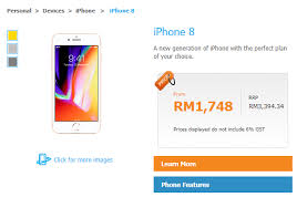 iPhone 8 Malaysian pricing and contract plans revealed by Cel