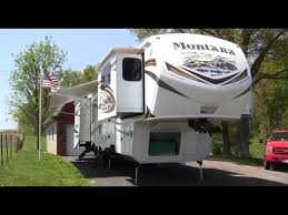 Fifth Wheel Campers With Front Living Rooms by 2013 Keystone Montana 3750 Fully Loaded Front Living Room Luxury