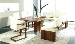 Dining Room Table With Bench Seat Kitchen Tables And Benches Small
