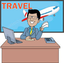 Suitcase Clipart Travel Agent 1