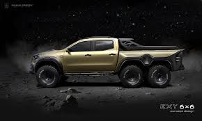 100 6x6 Truck Conversion Tuner Proposes MercedesBenz XClass Pickup