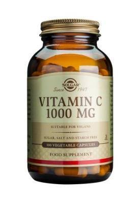 Solgar Vitamin C 1000 mg Vegetable Capsules