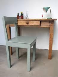 petit bureau en bois petit bureau rétro meuble vintage vintage furniture