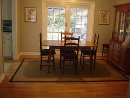 Sisal Or Seagrass Rug In Formal Dining Room