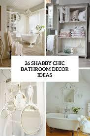Nightmare Before Christmas Bathroom Decor by 26 Adorable Shabby Chic Bathroom Décor Ideas Shelterness