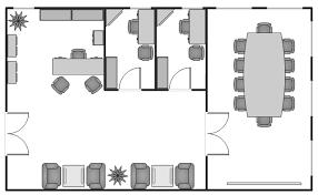 Small office floor plan