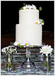 Cake Trend Trios Part III Daisy Wedding