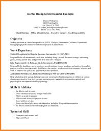 Front Desk Receptionist Resume by Front Desk Receptionist Resume Bio Resume Samples