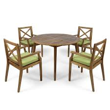 Highland Dunes Geneva 5 Piece Teak Dining Set With Cushions ... Danish Mondern Johannes Norgaard Teak Ding Chairs With Bold Tables And Singapore Sets Originals Table 4 Uldum Feb 17 2019 1960s 6 By Greaves Thomas Mcm Teak Table Niels Moller Chairs Etsy Mid Century By G Plan Round Ding Real 8 Seater Jamaica Set Temple Webster Nisha Fniture Sheesham Wooden Balcony Vintage Of 244003 Vidaxl Nine Piece Massive Chair On Retro