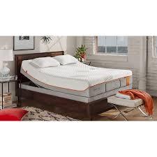 Headboard For Tempurpedic Adjustable Bed by Bedroom Design Dark Wood Tufted Bed With Comfortable Tempurpedic