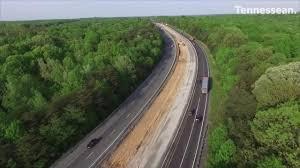 Dickson Interstate 40 Eastbound Work Is Adding A Truck Climbing Lane.
