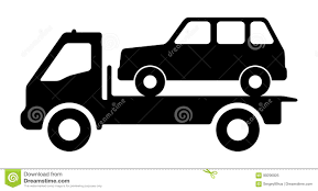 100 Tow Truck Vector Car On A Tow Truck Stock Vector Illustration Of Cargo 99296926