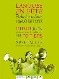 langues en fête parlanjhe en faete lenguas en festa les 11 12