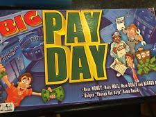 2008 Winning Moves BIG Pay Day Payday Board Game Excellent