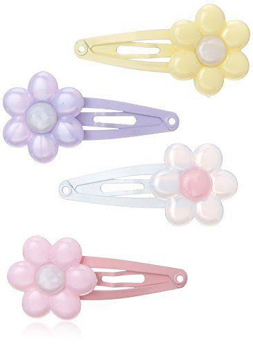 Goody Girls Daisy Charmed Contour Hair Clips - 8ct