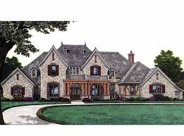 Small French Country House Plans Colors French Country House Plan With 3423 Square Feet And 4 Bedrooms