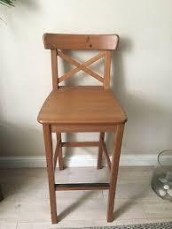 white bar stool ikea janinge 31 00 picclick uk