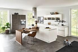 nolte küchen soft lack magnolia nussbaum royal grifflos inselküche