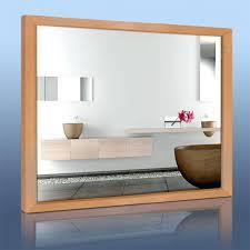 cadre de miroir en bois miroir chauffant avec et sans cadre dos