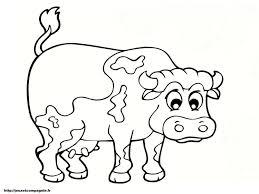 Coloriage Vache Beau Coloriage Cocotte Colorier Dessin Imprimer