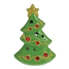 US Toy Ceramic Light Up Mini Christmas Tree 625 LED Decoration
