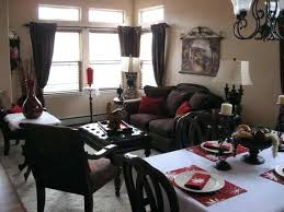 Decorating A Small Living Room Dining Combination Combo Paint Ideas