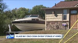 100 Boat Homes Meyers Lake May Crack Down On Owners Who Store Boats Outside