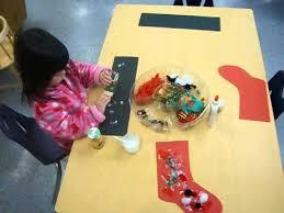 Children Creative Hand Works At Preschool