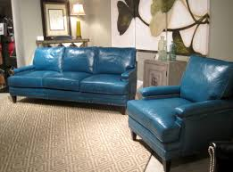 Bradington Young Sofa Set by Leather