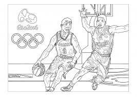 6 INCREDIBLE Rio 2016 Olympic Games Coloring Pages