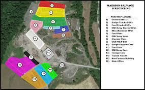 100 Ford Truck Salvage Yards Yard Map Madison