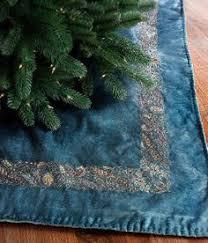 Sudha Pennathur 50 Square Blue Velvet Tree Skirt Review At Kaboodle