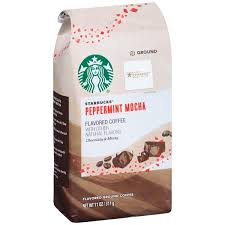 Starbucks Peppermint Mocha Flavored Ground Coffee