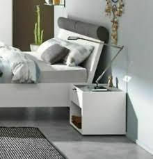 hülsta doppelbett fena weiß mit 2 nachtkonsolen bett 180 x