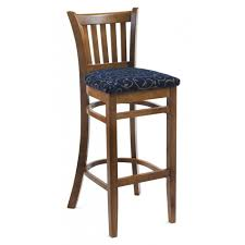 Chairs with Padded Seat Soft Oak