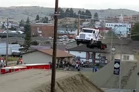 Watch Stuntman Set A World Record Semi-Truck Jump