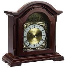Bulova Table Clocks Wood by Chime Clocks