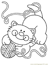 Fat Cat Coloring Pages For Kids PrintableKidsfreecoloring