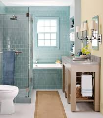 small bathroom with tub and walk in shower page 1 line