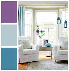 Purple Grey And Turquoise Living Room by Modern Spring Palettes Color Wheels Turquoise And Wheels
