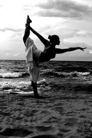 Black And White Yoga