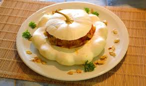 cuisiner le patisson blanc recette pâtisson farci à la provençale recette pâtisson farci à la