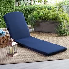 Steamer Chair Cushions Canada by Polywood Sunbrella 78 X 20 5 In Chaise Lounge Cushion Hayneedle