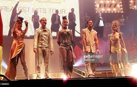 British Pop Group Steps Perform On Stage For Their Gold Greatest Hits