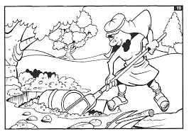 Hidden Treasure Colouring Pages