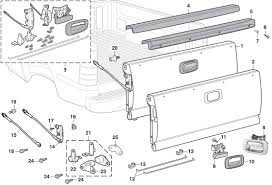 100 Truck Bed Parts 2006 Chevy Silverado Diagram 119dermaliftde