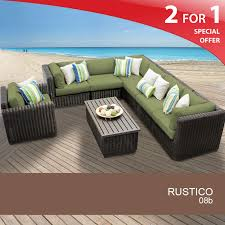 Rustico 8 Piece Outdoor Wicker Patio Furniture Set 08b - Design ... In Vogue Reclaimed Log Wood Single Sink Rustic Vanity With Chrome Patio Pergola Awesome Garden Ideas Sophisticated Dark Designing Backyard Spaces Tips From A Pro Pergola Wooden Modern Living Room Fireplace Living Rooms Amazing Traditional Craftsman Ocean Breeze 2 Squeaky Clean Like Home Furnishings Bedroom Marvelous Emerald Costco Canada Outdoor Ding Area Fniture Table Laax Exceptional How To Build An Patios And Yards Lawn Idea For Courtyard Design Also Wicker
