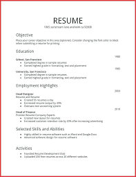 Resume Sample Activities And Interests Hobbies On