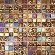 wall arts mosaic tile wall murals modern bathroom black and